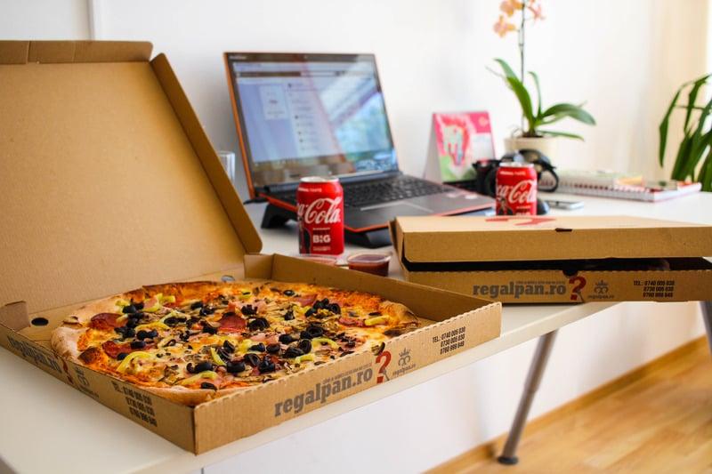 Canva - Regal Pan Pizza on Box