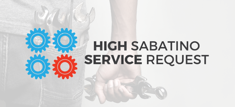 Introducing the New High Sabatino Service Portal